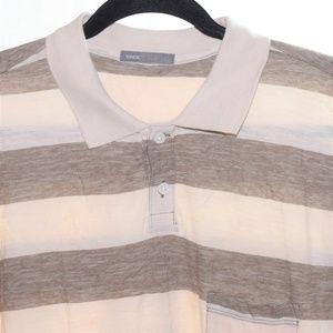 Vince Medium  Short Sleeve Button Front Shirt